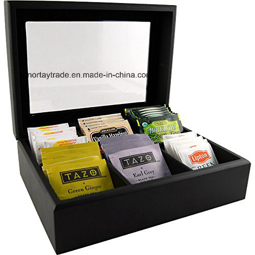 Wood Tea Bag Box Wood Chest pictures & photos