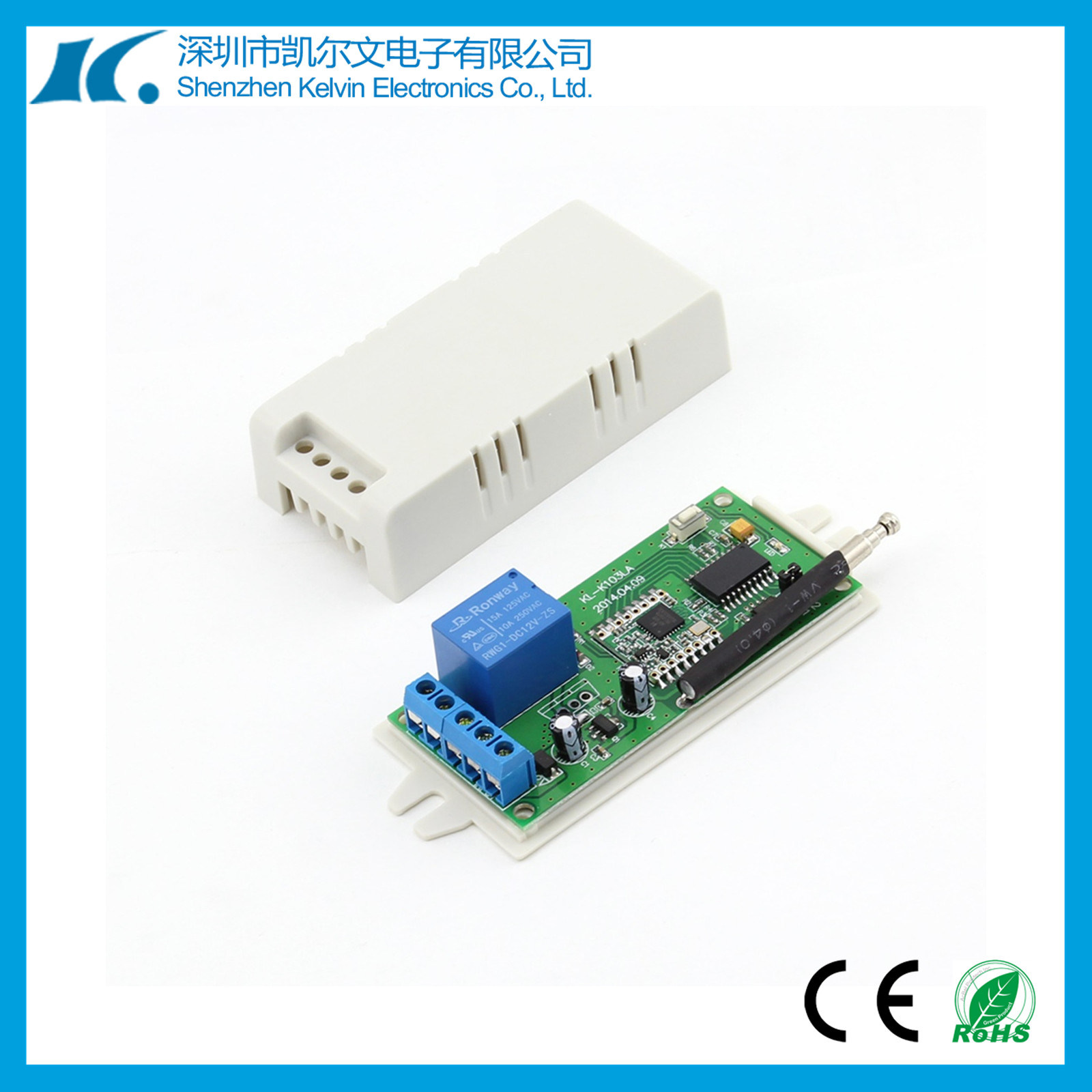 [Hot Item] Wireless Universal 433MHz 5km 1 Channel RF Remote Controller  Kl-K103la