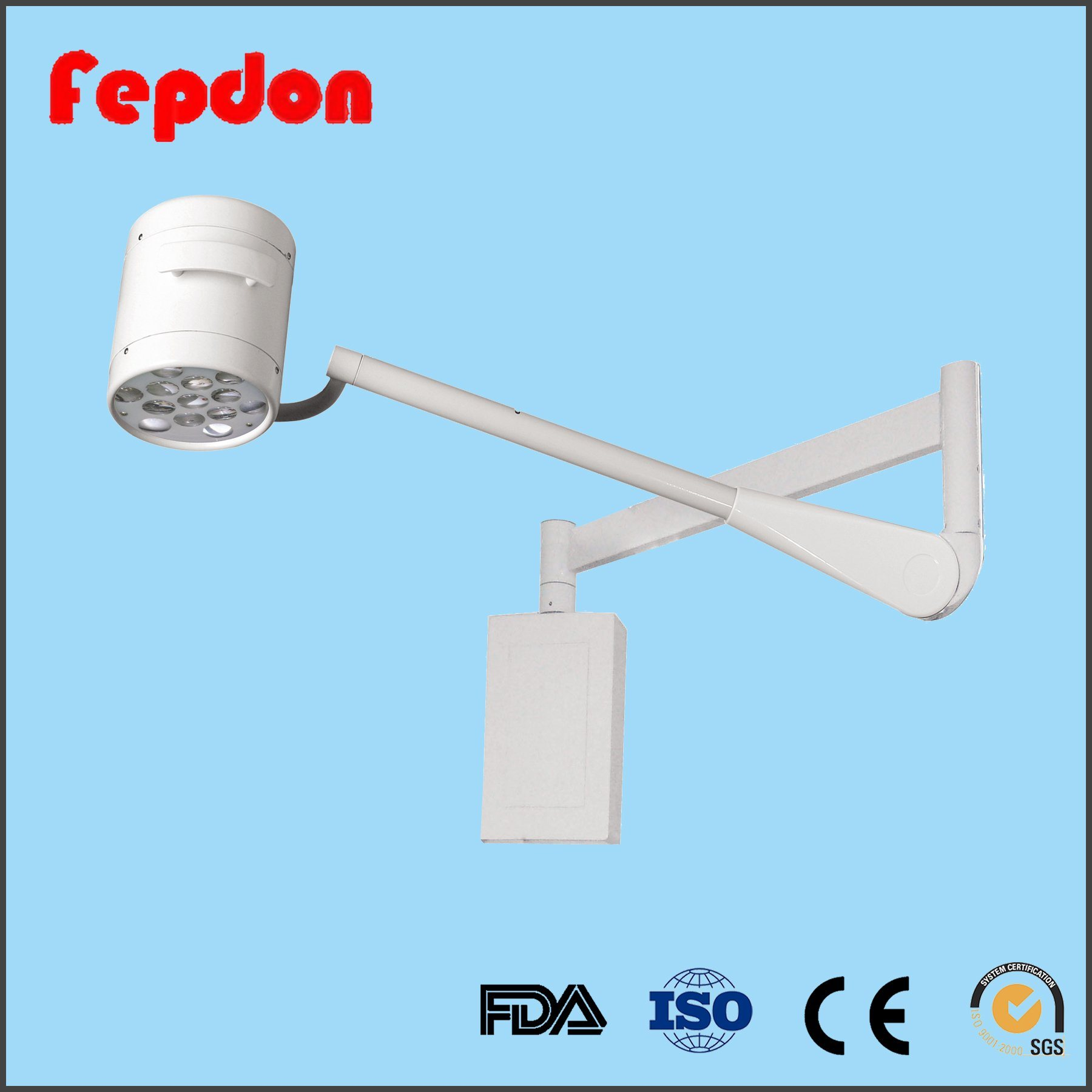 China Led Wall Operation Theatre Light With Bulbs Yd200w Lighting Diagram Mounted Surgery Operating For