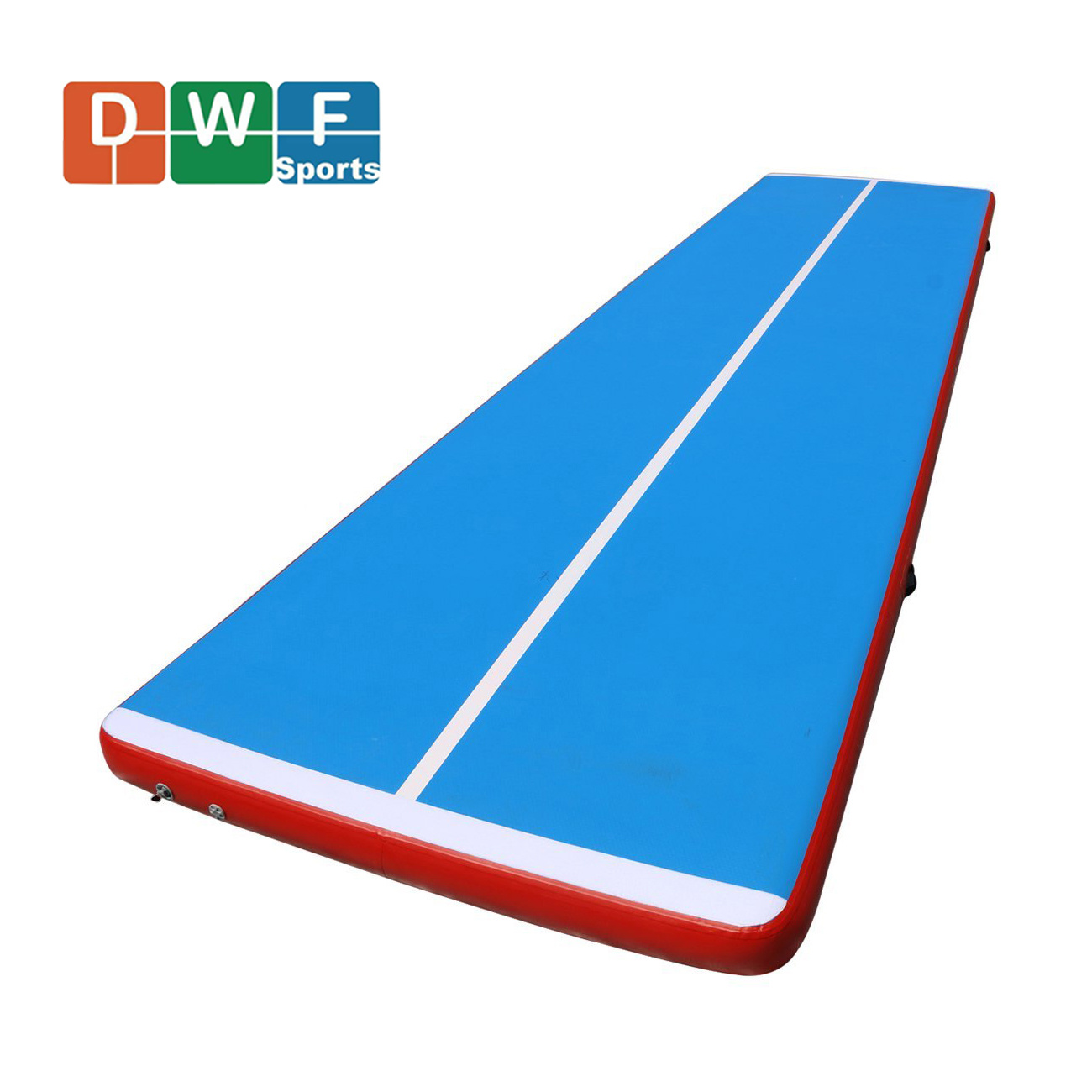 Air Track Gymnastics Tumbling Mat Floor Inflatable GYM Pad /&Pump Training Sports