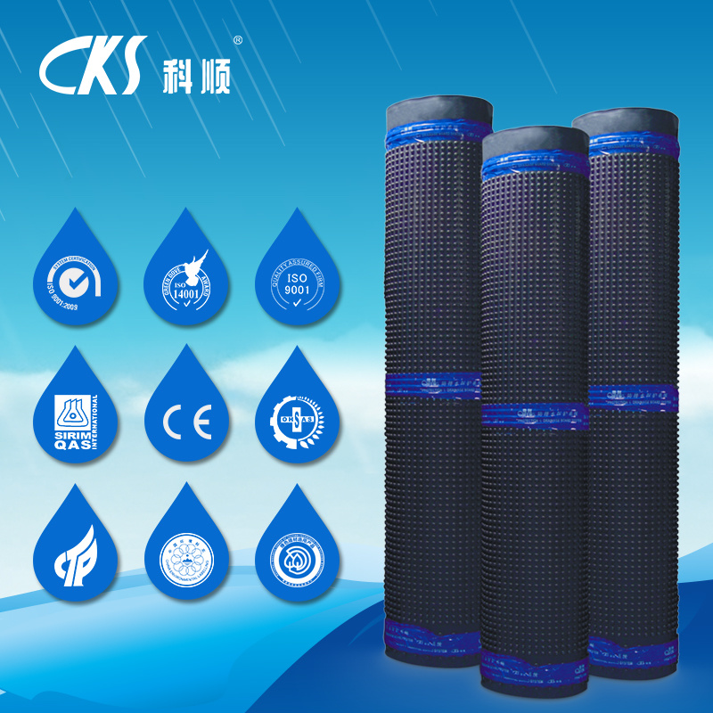Waterproof and Drainage Protection System with HDPE