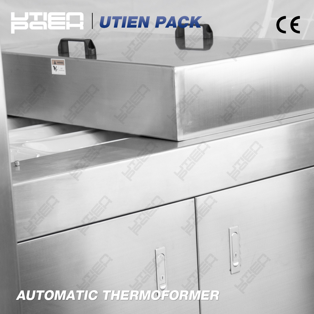Automatic Vacuum Thermoforming Machine for Skin Pack