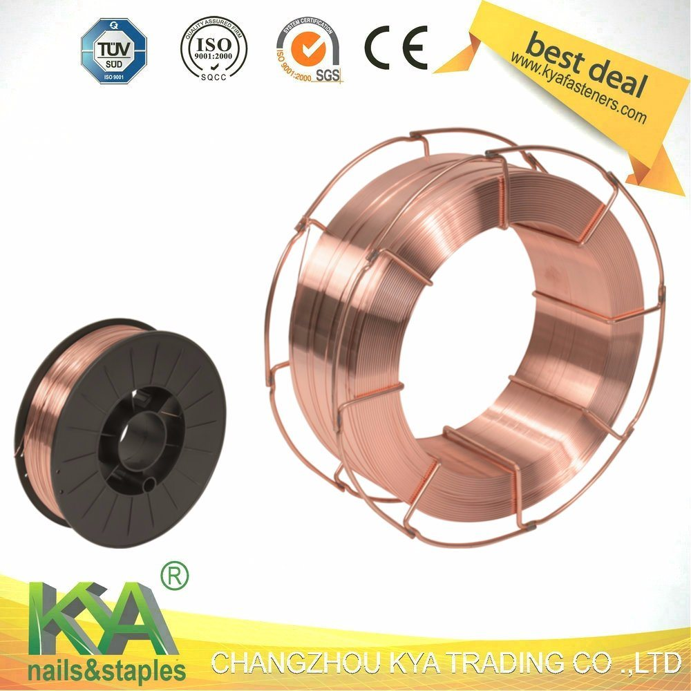 China 1.2mm 5/15/20kg/Spool Welding Wire Welding Product with CO2 ...
