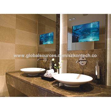27 32 42 Inch Ip68 Waterproof Remote Control Wall Mounted Bathroom Mirror Tv