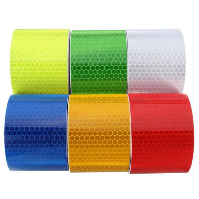 [Hot Item] Safety Warning Caution Adhesive PVC Marking Honeycomb Reflective  Tape