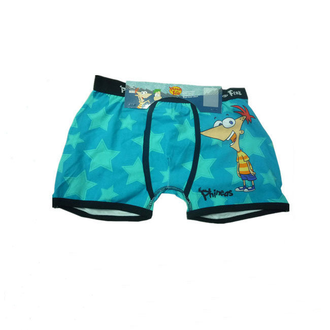 76539cb9b China 100% Cotton Soft and Breathable Cute Cartoon Child Boys Boxer ...