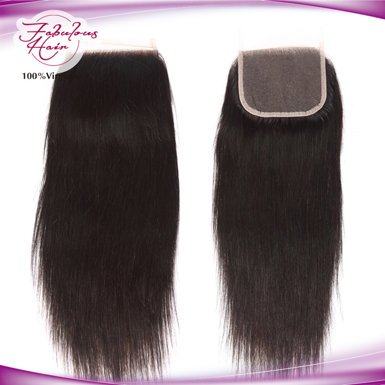 Lace Closure Straight Brazilian Hair Wholesale Price Human Closure pictures & photos