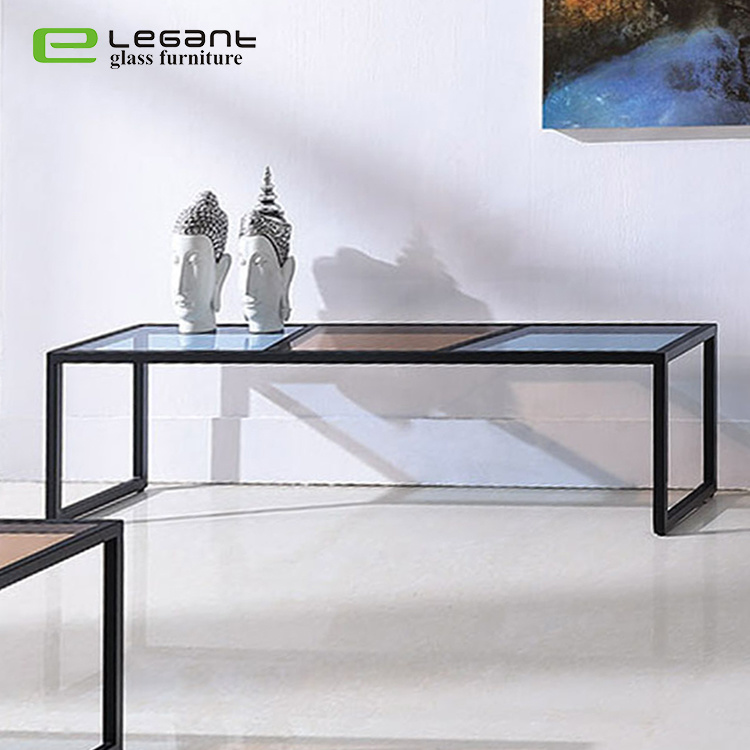 China Iron Frame Tv Stand Cabinets Modern High Gloss Glass Top