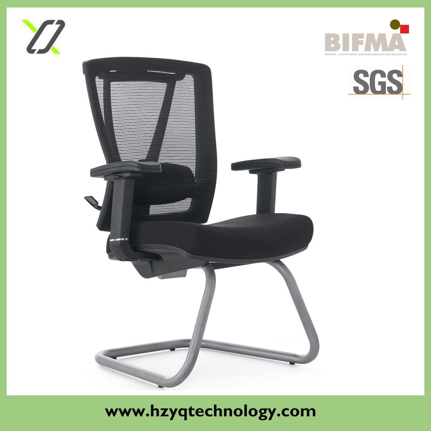Visitor Black Comfortable Office Chair