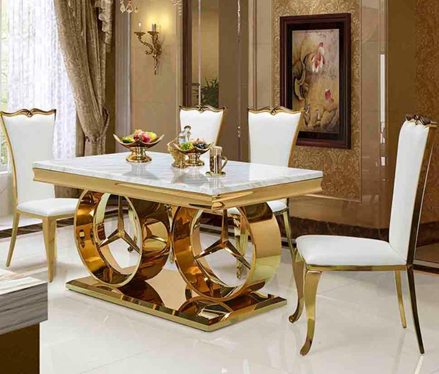 China 6 8 10 Seater Turkey Malaysia Singapore Italian Dubai Rectangle Marble Top Dining Table Manufacturers China Home Furniture Chair Furniture