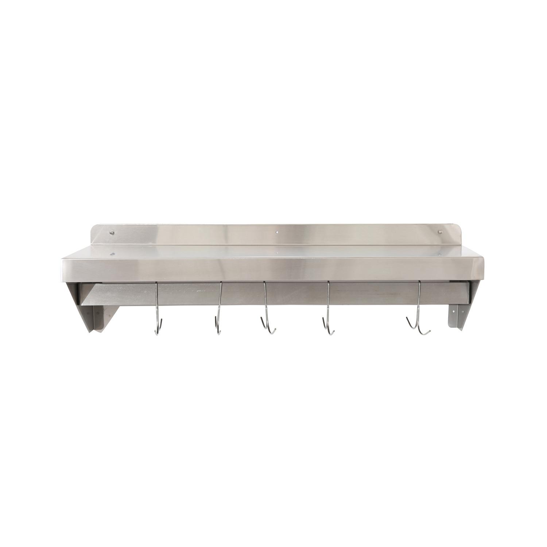 China Stainless Steel Wall Rack Shelf