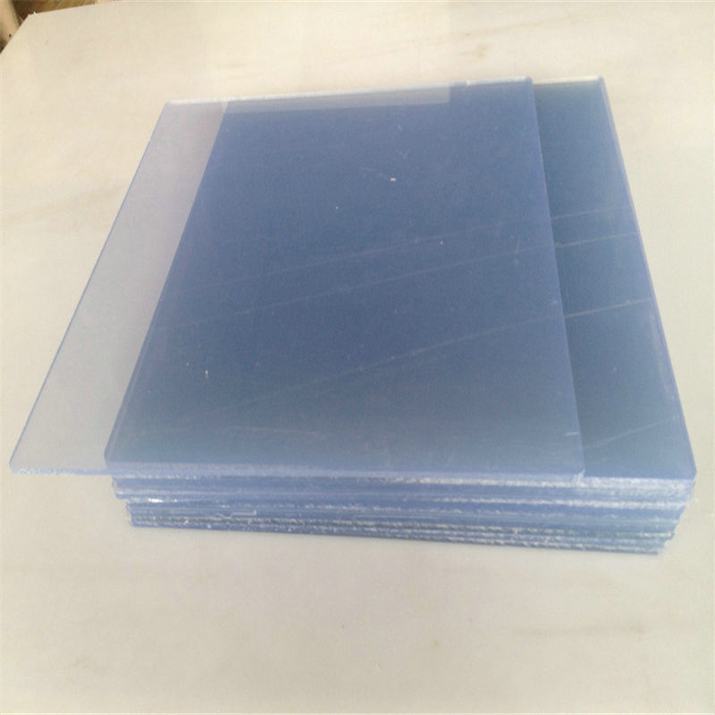 China Extrusion 4x8 Solid Rigid Clear Transparent 2mm Pvc