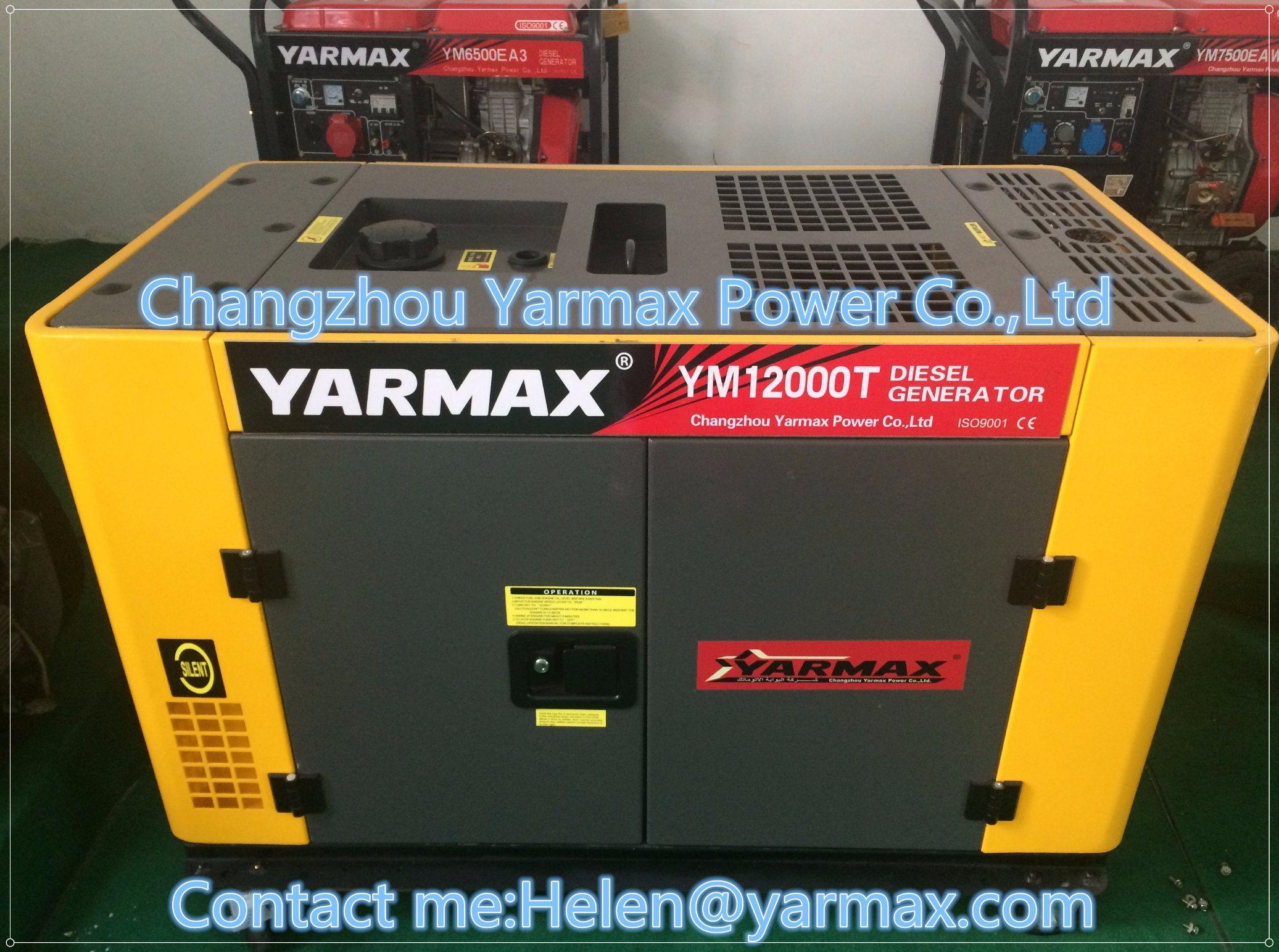 China Yarmax Best Diesel Power Generator 10kw 12kw Bestdieselgeneratorcom Alternator