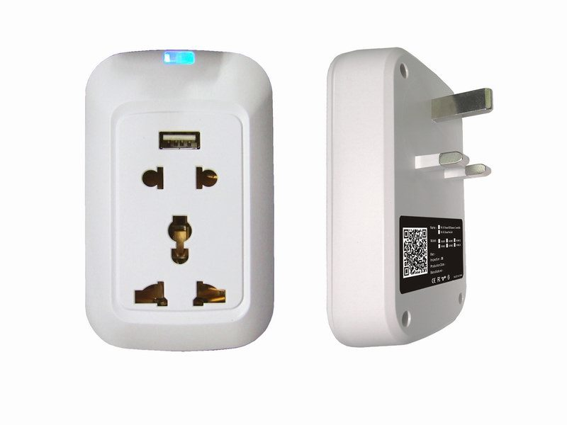China Smart WiFi Energy Saving Socket Outlet Electric Plug with ...