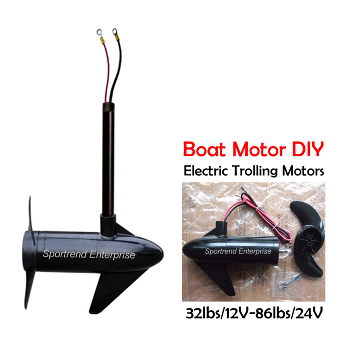 China Electric Thruster Trolling Motor 12V/24V for Pedal or
