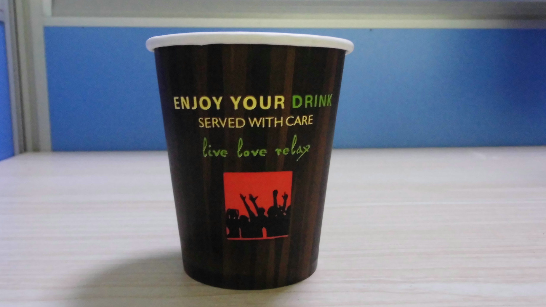 Disposable Hot Coffee Paper Cup with Lids