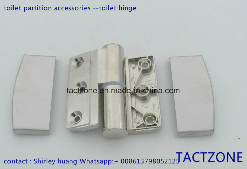 China Hot Sell Toilet Partition Cubicle Hardware Ordinary Folding - Bathroom partition hinges