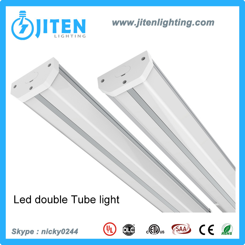 China LED Hanging Tube Light Fixture T5 Double Tube Light with 3 ...