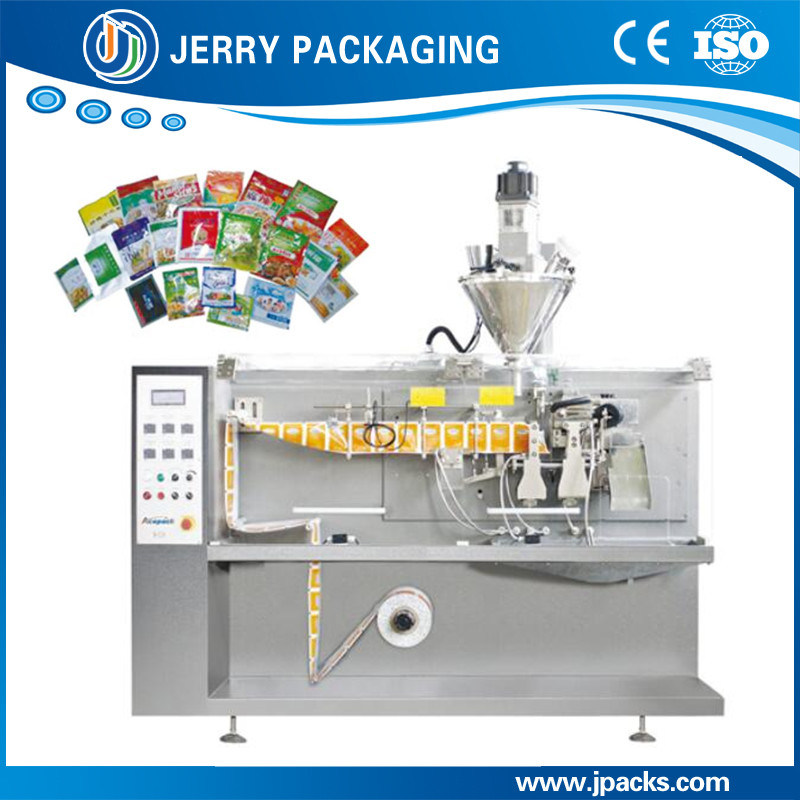 [Hot Item] Full Automatic Horizontal Liquid & Powder Pouch Sachet Filling  Packing Machine