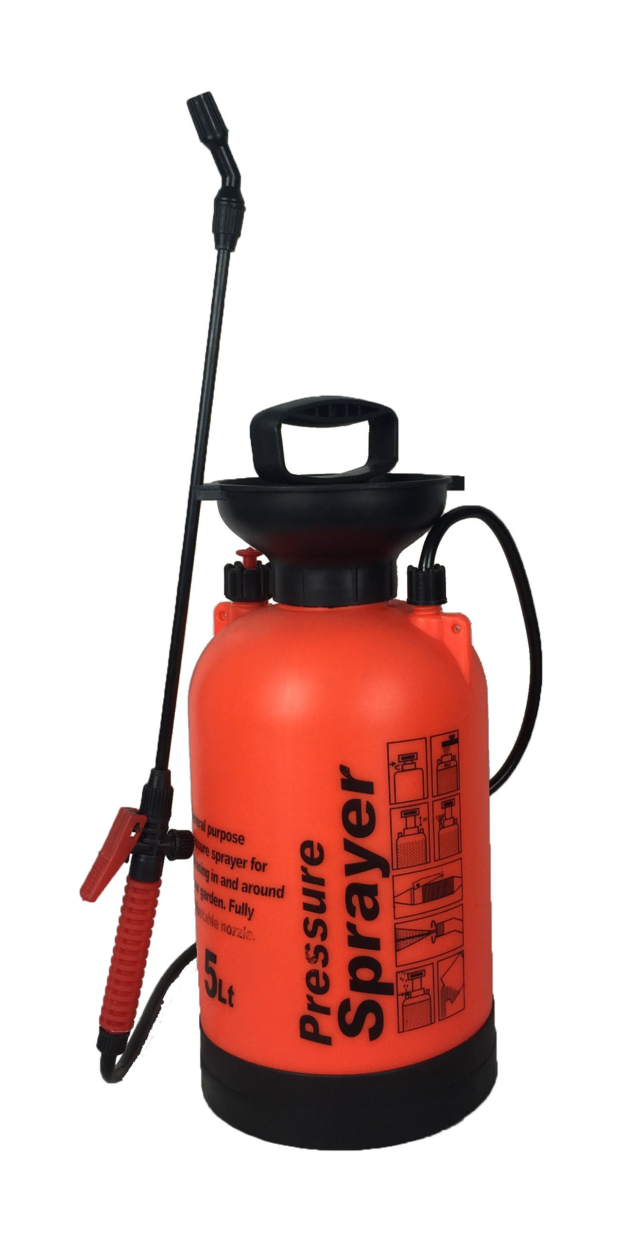 37f412bff49a [Hot Item] 5L Ce Proved Small Garden Tool Sprayer PE (TF-5D)