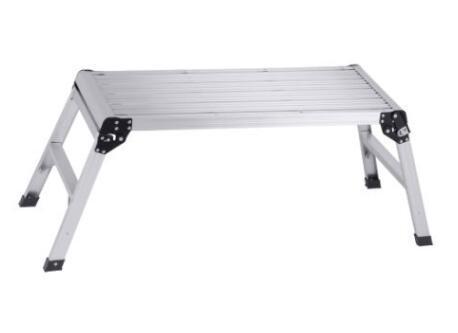 Magnificent Hot Item Aluminum Work Platform Folding Work Bench Portable Stool Ladder Evergreenethics Interior Chair Design Evergreenethicsorg