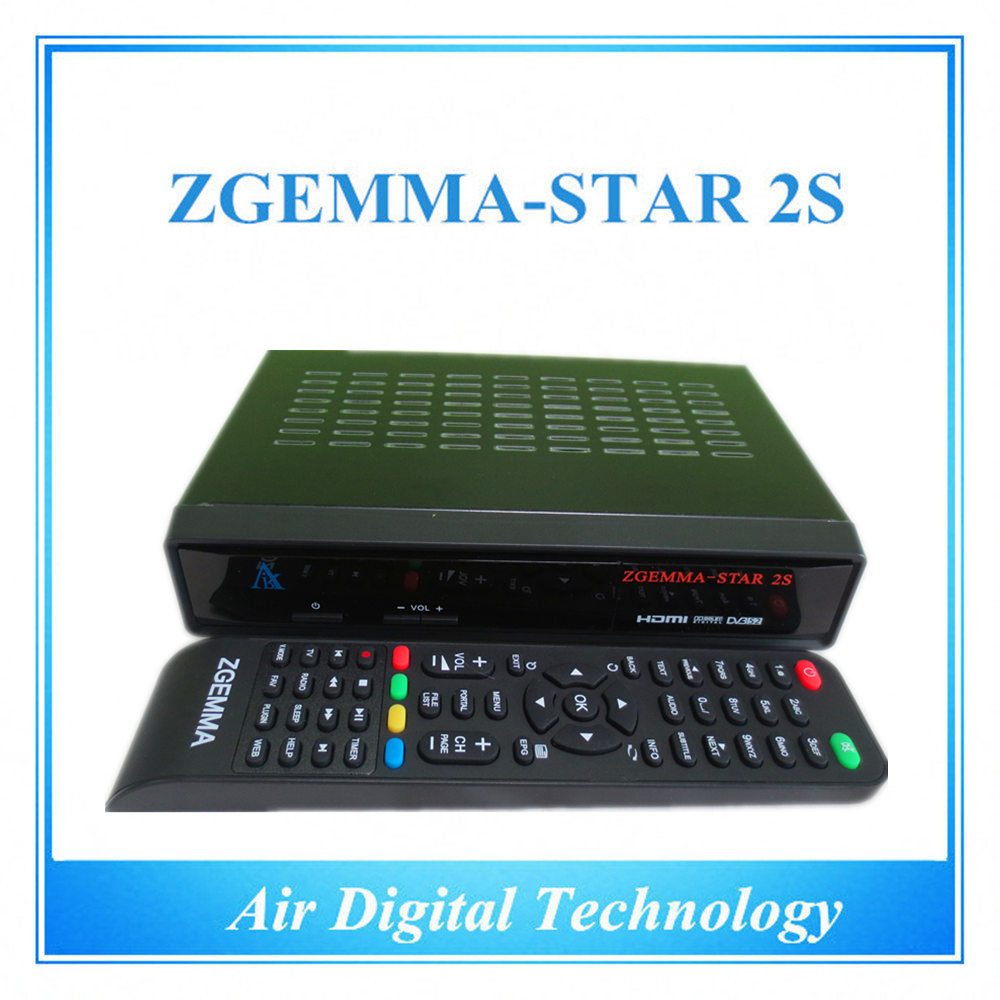 [Hot Item] Twin Sat Tuner Enigma2 Satellite Receiver Zgemma-Star 2s