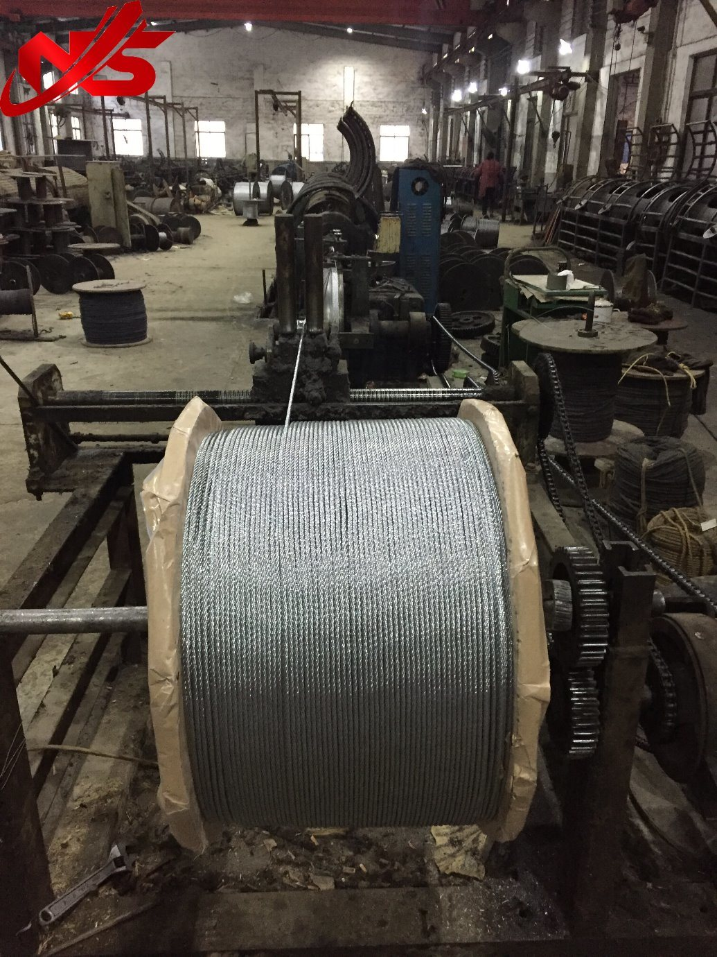 China Hot DIP Galvanized Aircraft Steel Wire Rope Cable 7X19 Photos ...
