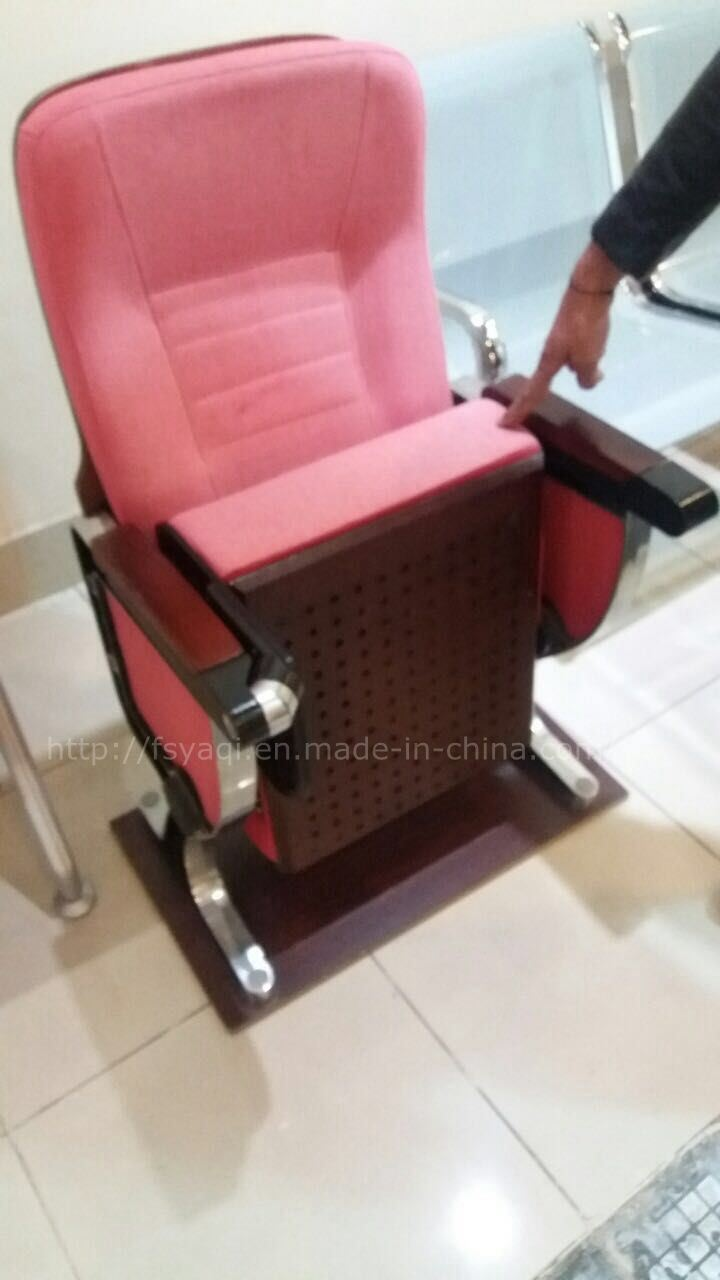Comfortable Auditorium Seat Aluminum Alloy Auditorium Chair (YA-201)