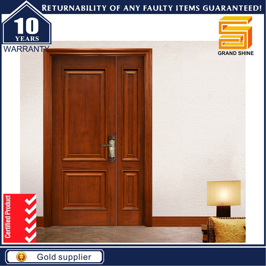 China Stable Son-Mother Type Latest Design Wooden Doors - China Door Wooden Door  sc 1 st  Guangdong Grand Shine Construction Material Co. Ltd. & China Stable Son-Mother Type Latest Design Wooden Doors - China Door ...
