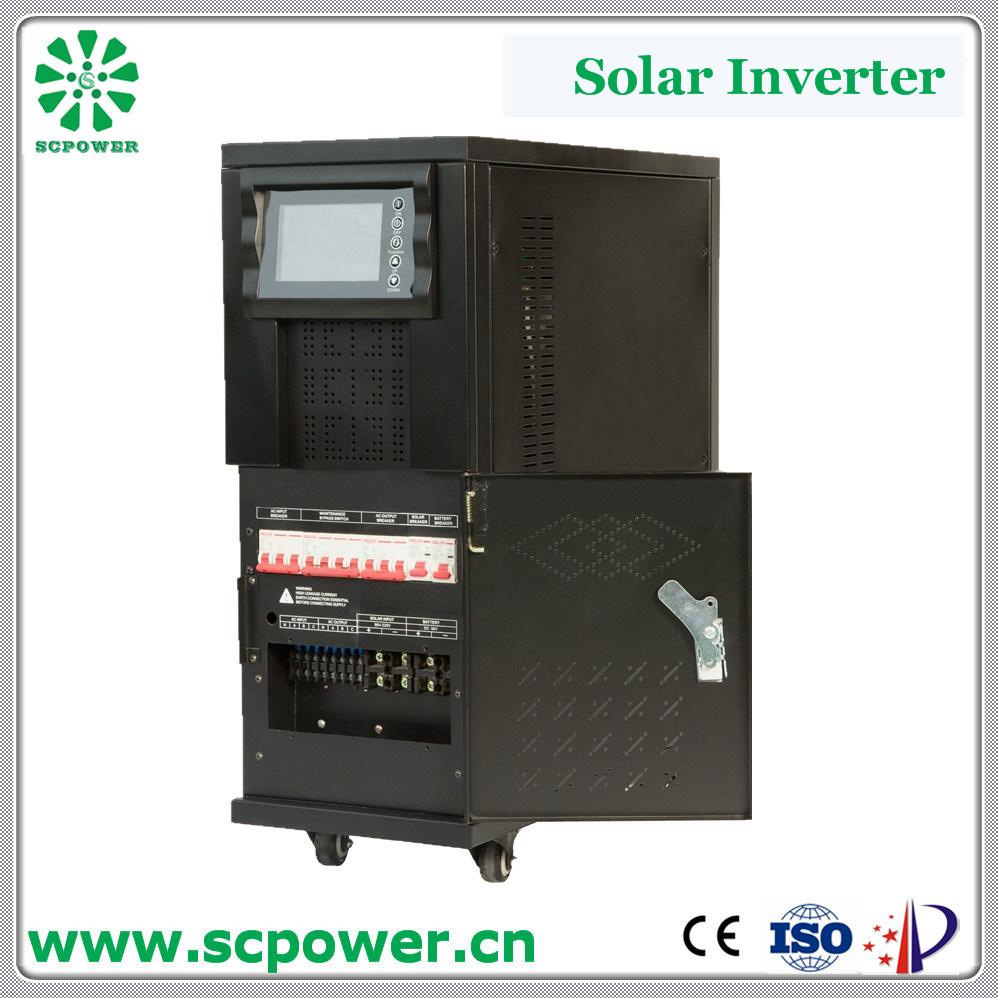 China Factory Diret Sale 15kVA Long Time Backup Solar Power Inverter ...