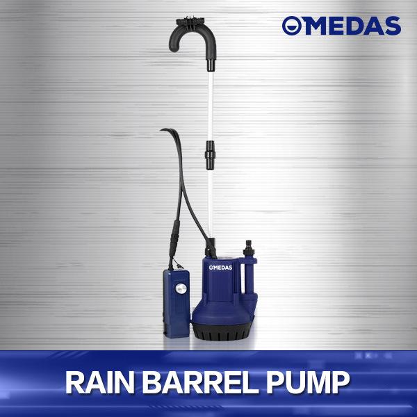 [Hot Item] Rain Barrel Solar Water Pump