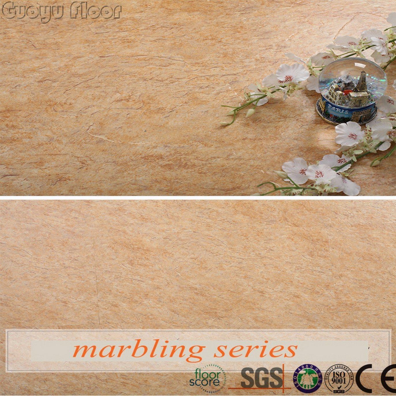 Stone Texture PVC Click Lock Vinyl Flooring