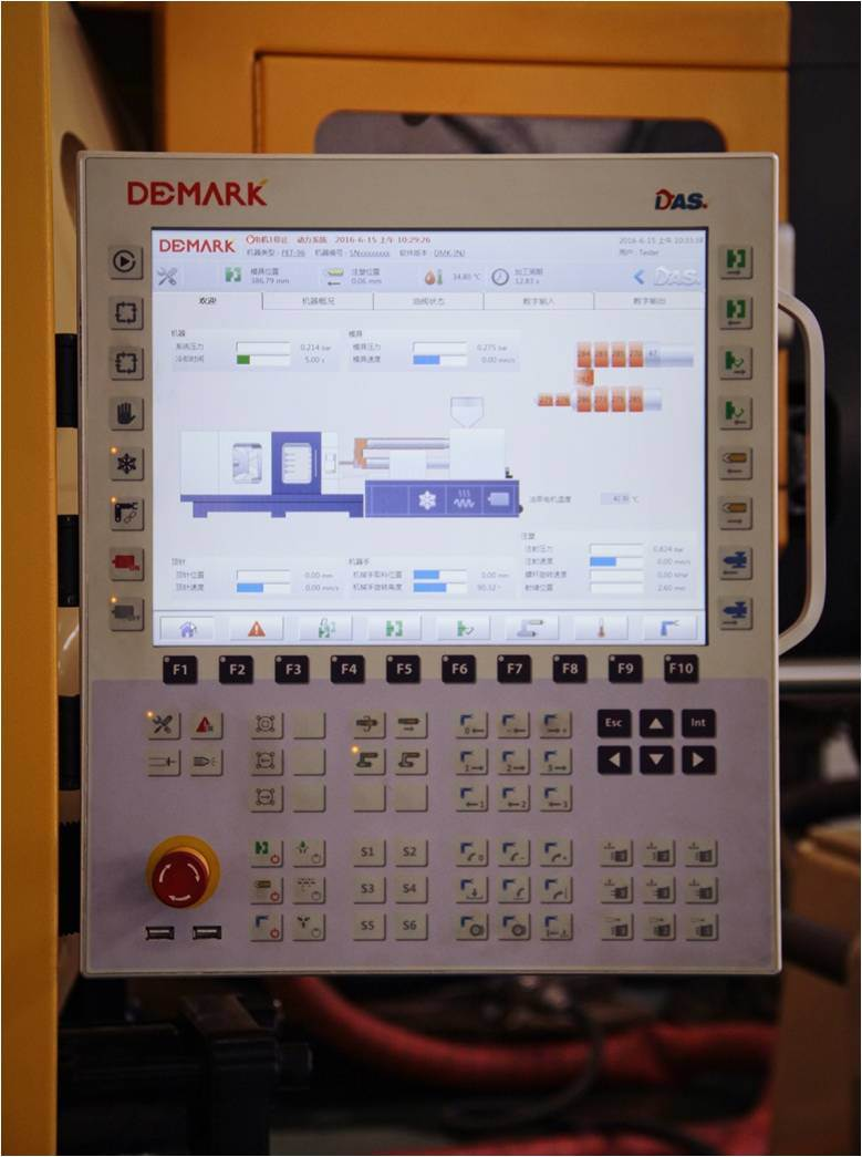 Demark High-Speed Pet Preform Injection System with Cooling Robot