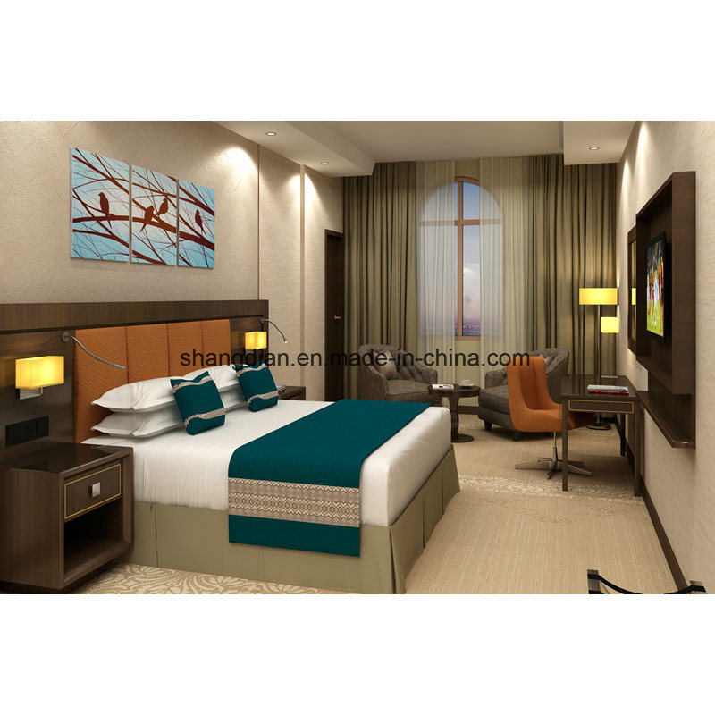 [Hot Item] Ethiopia 5 Star Wyndham Hotel Bedroom Furniture Sets with  Factory Price