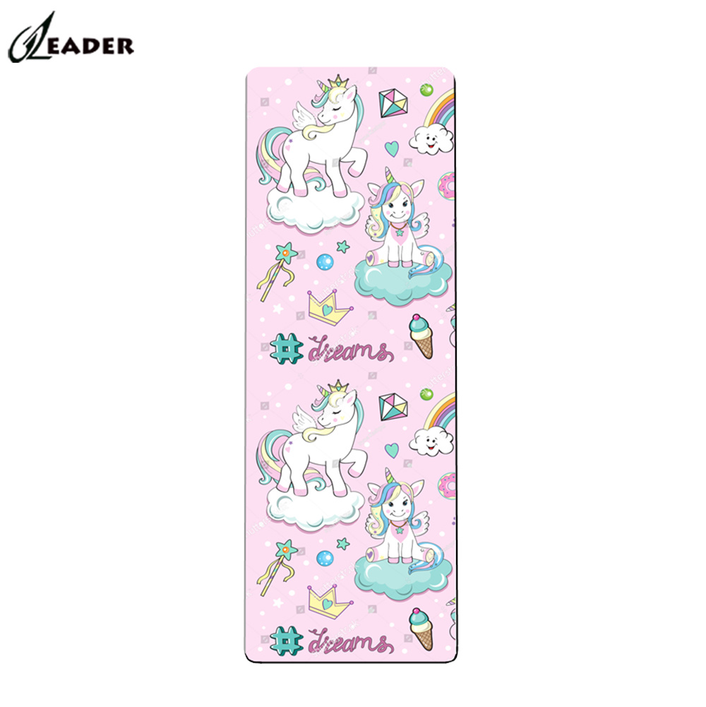 China The Best Eco Friendly Lovely Kids Yoga Mat China Kids Yoga Mats Print And Kids Christmas Gift Price