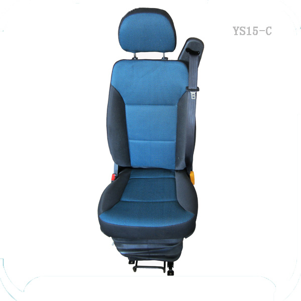 [Hot Item] Truck Suspension Seats with Three-Point-Belt Electrical Buckle  Sensor