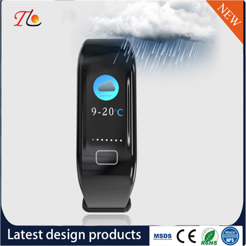 [Hot Item] Smart Watch Silicone Watch Weather Forecast Sleep IP67 Level  Waterproof SMS Photos, Calories, Step Counting Call Reminder Alarm Clock to