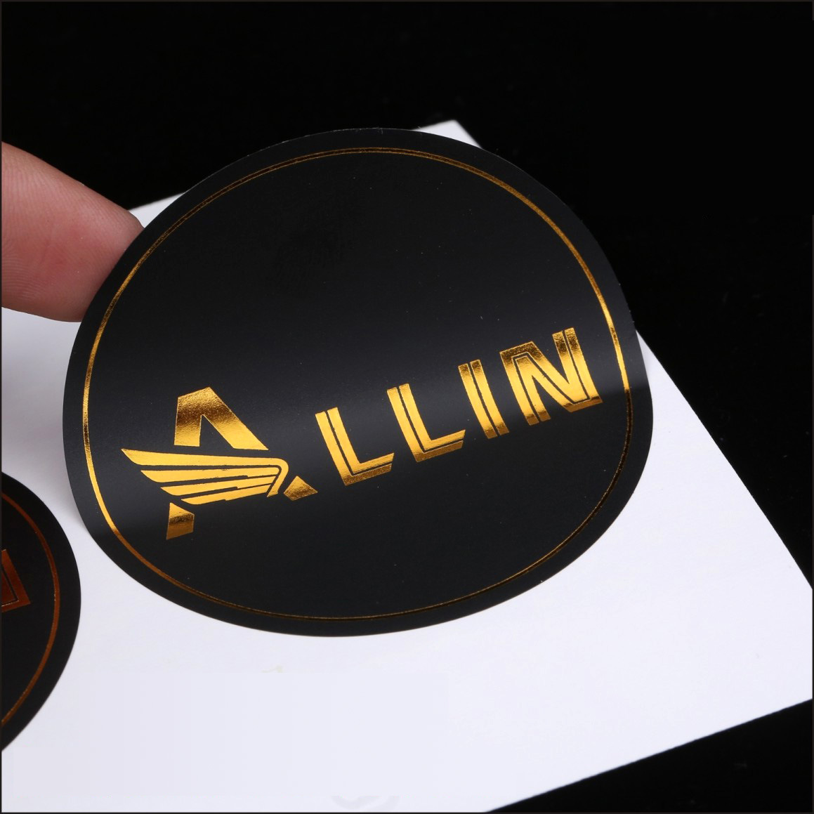 China promotional label printing die cut adhesive custom stickers with logo china stickers logo sticker