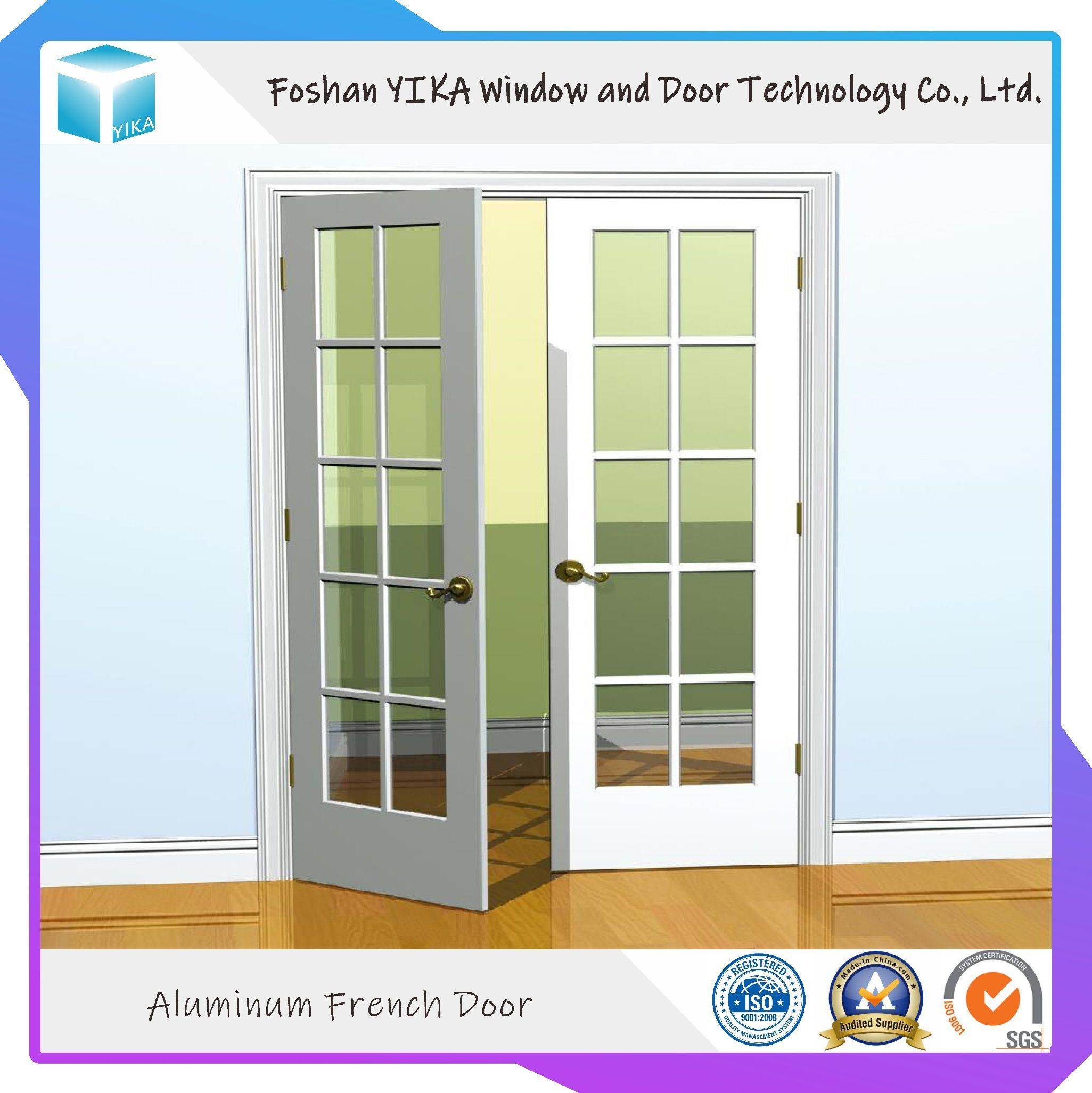 China Simple Style Steel Front Iron Window Grill Door Design China Interior Door Security Door