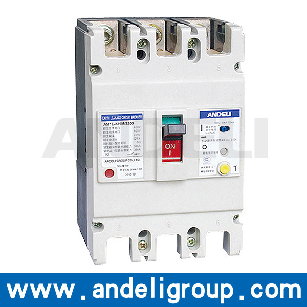 China 63A100A125A ELCB 3 Phase Earth Leakage    Circuit