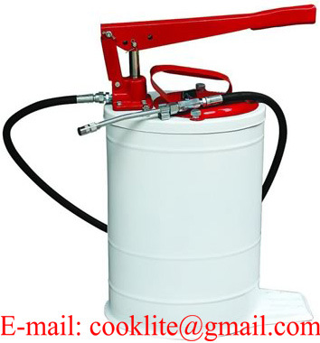 Hand Operated High Volume Bucket Lubrication Grease Pump