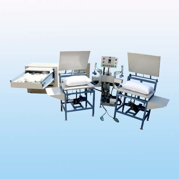 Stuffing Bedding Pillow Machine with Best Filling Surface