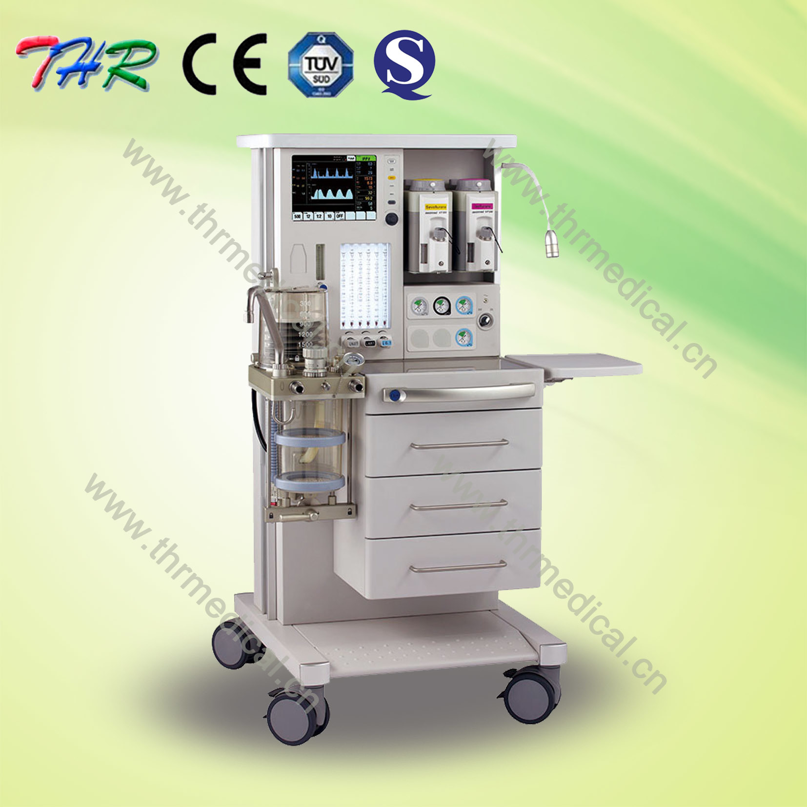CE Quality Medical Trolley Anesthesia Machine pictures & photos