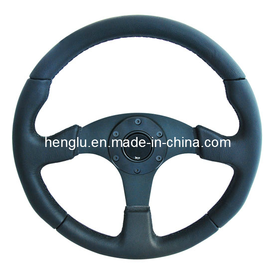 Flat Racing Auto Steering Wheel (HL1001688)