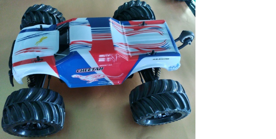 Violent 1: 10 Scale 4WD Battery Powered off-Road Buggy