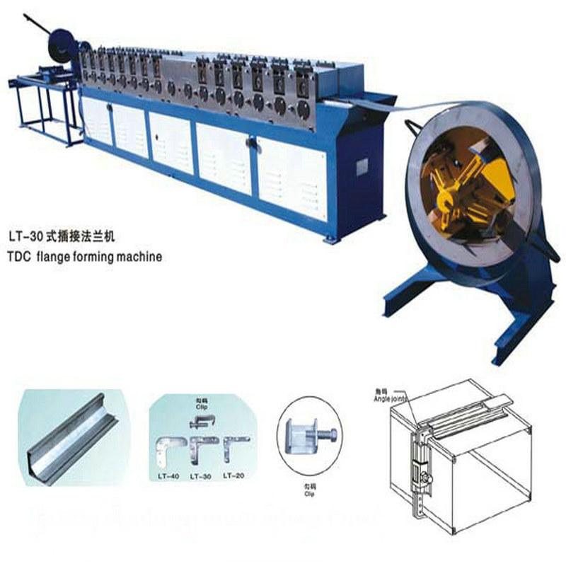 [Hot Item] Tdc/Tdf Flange Forming Machine for Ventilation Tube Duct Former