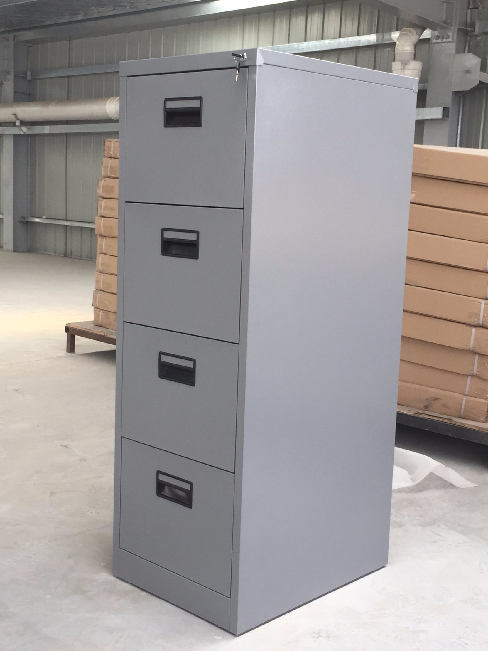 China deep grey color vertical file storage furniture china storage cabinet office cabinet