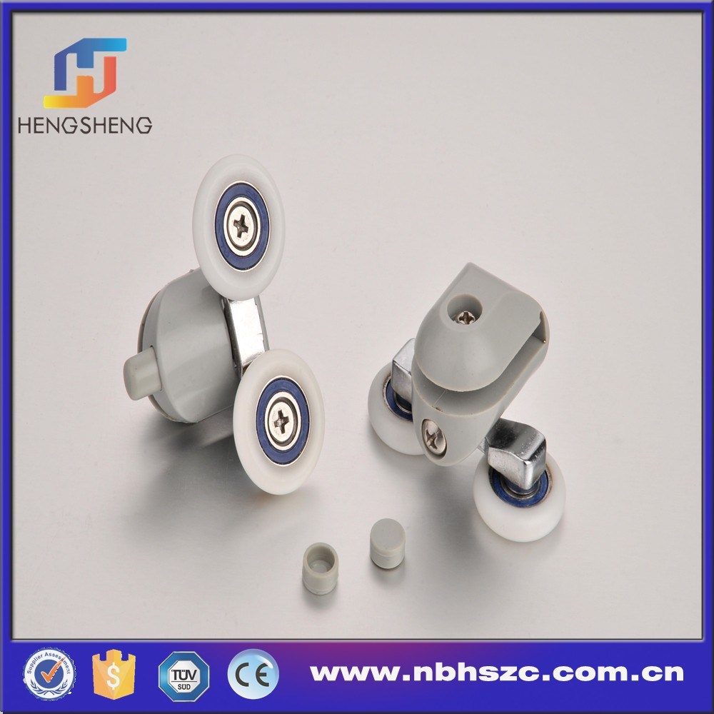 Double Wheel Plastic Shower Door Roller