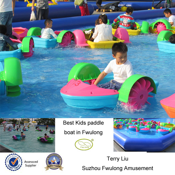 China Fwulong Paddle Boats Kids Boat For Sale