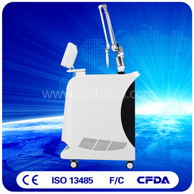 Spot Adjustable 1-7mm Q Switched ND YAG Laser Tattoo Removal Machine pictures & photos